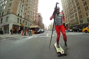 New Sport SpikeBoarding