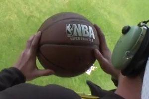 Basketball From Zeppelin