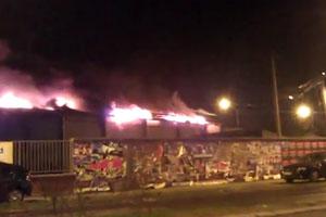 Discotek Caught In Fire At Novi Sad