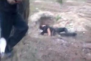 Drunk Russian Falls In A Hole