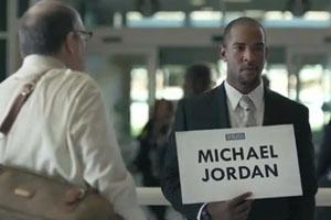 Very Funny Michael Jordan Commercial