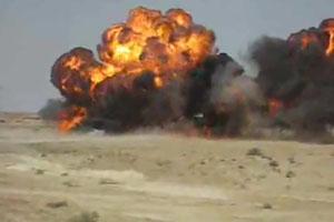 Massive Gas Explosion