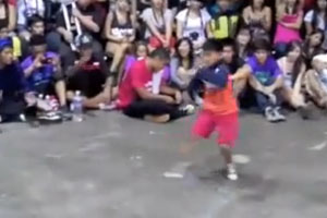8 Year Old Breakdancing Domination