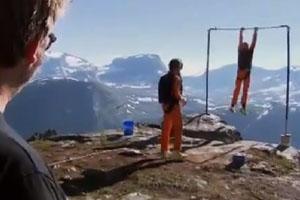 Bar Breaks During Base Jump