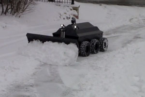Robot For Swon Plowing