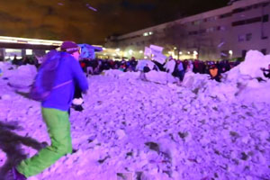 Largest Snowball Fight