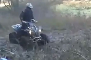 Four Wheeler Jump Fail
