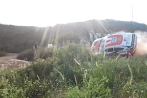 Dakar 2013 Crash