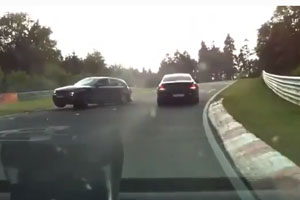 Amateur Crash On Nurburgring