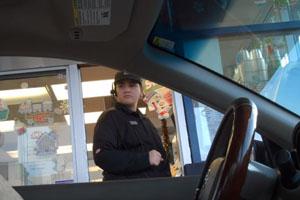 McDonalds Invisible Drive Thru Prank 2