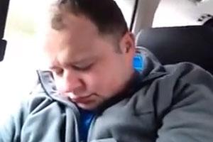 Prank On A Sleeping Guy
