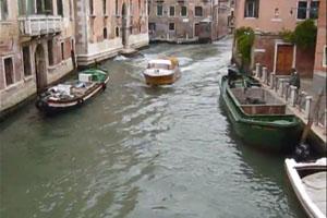 Ambulance in Venice