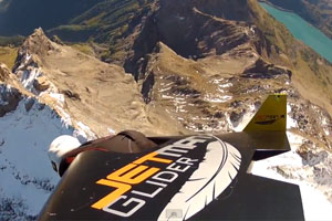 A Ride With The JetMan
