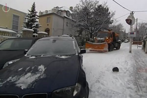 Crash Of A Snowplow