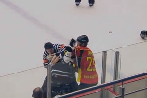 Referee Fights Player