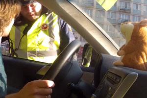 Singing Hamster And Policeman