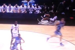 Basketball Leg Injury