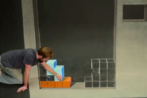 Tetris Stopmotion Drawing