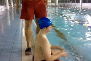 How To Easy Put On A Swimming Cap