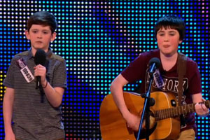 Jack and Cormac sing Little Talks