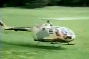 Low Helicopter Flight
