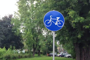 Special Bike Line In Poland