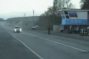 How Police Stop Cars in Russia