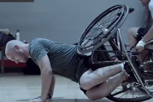 Wheelchairs Basketball Commercial
