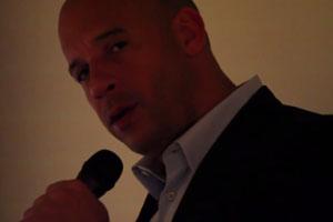 Vin Diesel Sings Stay Song
