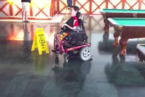 Wheelchair Drifting