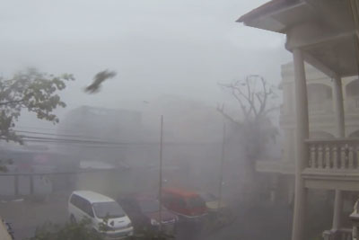 Video Of Haiyan Typhoon
