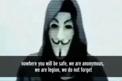 Anonymous Declares War on Terrorist After Massacre in Paris