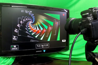 Fantastic Harmony of Camera and Monitor