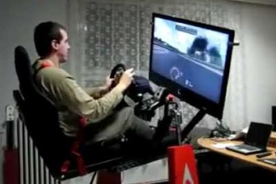 Awesome Formula 1 Simulator