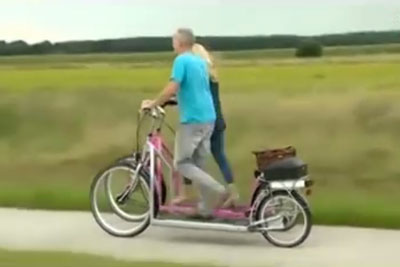 Would You Have This Walking Bike?