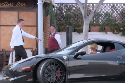 Restaurant's Staff Refused Him Because He Looked Like Homeless So He Came Back In Ferrari