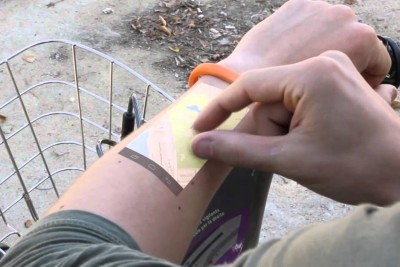 Revolutionary Bracelet That Makes Your Skin Touch Screen