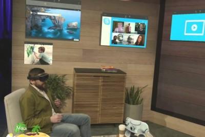 Microsoft HoloLens presentation
