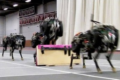 Cheetah Robot Can Jump Over Different Obstacles
