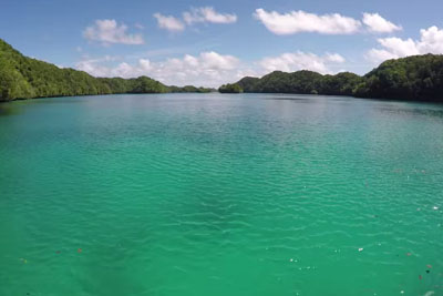 This Lake Is Nothing Special, But When Diver Takes Underwater Video I'm Speechless