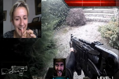 Real Life First Person Shooter Played By Chatroulette Users