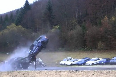 This Is A Car Crash At 200km/h