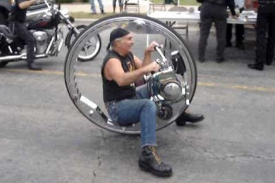 One Wheeler Biker Is Really Hilarious To Watch