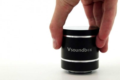 Vsoundbox Turns Any Surface Into A Speaker