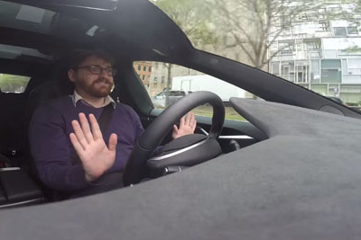 Tesla's Autopilot System Is Creepy And Wonderful
