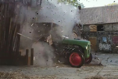 This Crazy Tractor Video Will Boost Your Adrenaline