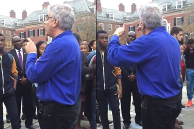 Yale Silliman College Master Christakis Stands Up To Cry-Bullies