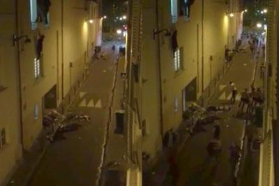 Drama In Late Paris Terrorist Attacks Captured On Camera