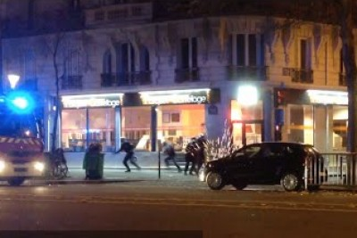 Shooting Among The French Police And Terrorists Hours After Terror Attacks