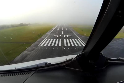 Autopilot Lands Plane In Foggy Weather In Dublin